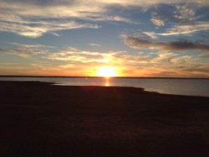 Another glorious sunset in Oklahoma!