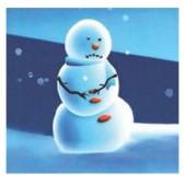 Sad Snow Man